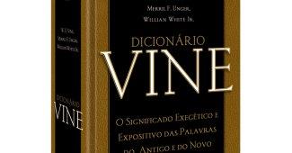 Dicionário de Vine, capa