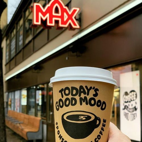 Today's good mood ️ #max #maxpremiumburgers #maxburgers #goodcoffee #maxburgersse