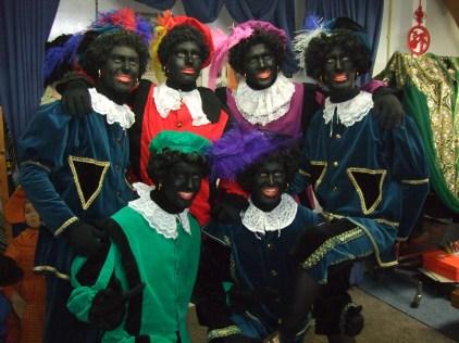 Hoge kwaliteit zwarte piet kostuum