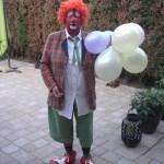 Clown bassie kostuum
