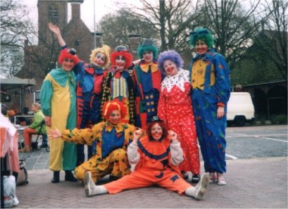Clown kostuums