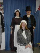 Dickens-stijl kostuum