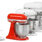 variety of kitchen mixers