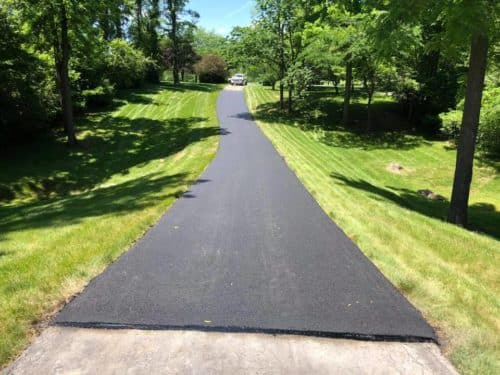 Driveways Tires Recycled