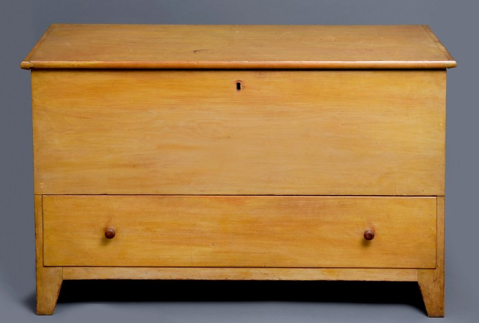 Lot 16: Blanket Chest