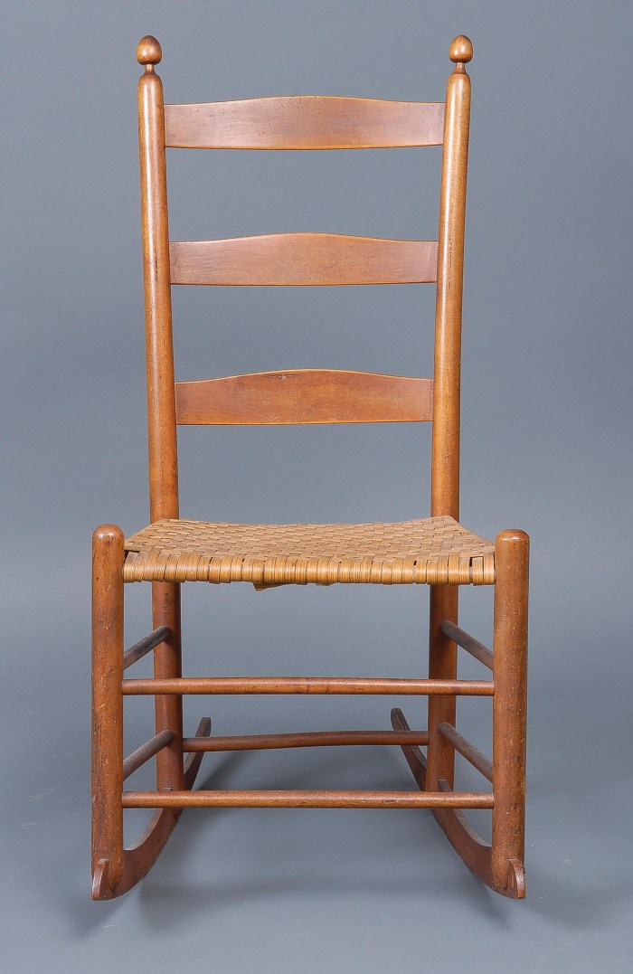 Lot 37: Two Rocking Chairs