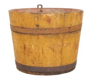 Lot 40: Sap Bucket, Basket and Pail