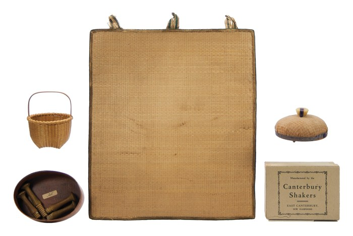 Lot 51: Shaker Small Items