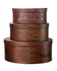 Lot 121: Three Oval Boxes