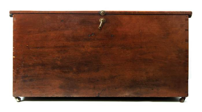 Lot 130: Large Storage Chest