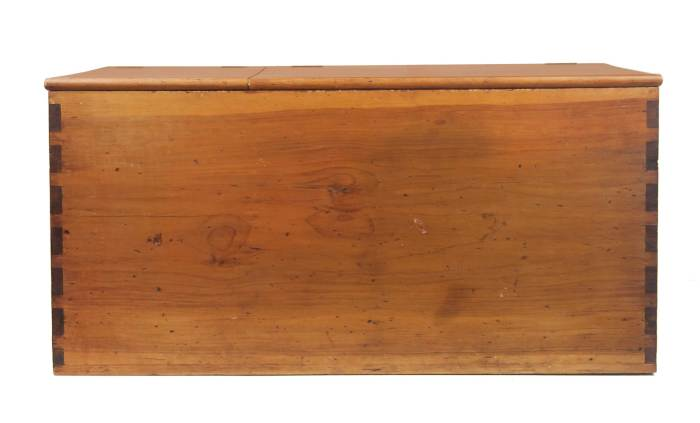 Lot 145: Wood Box