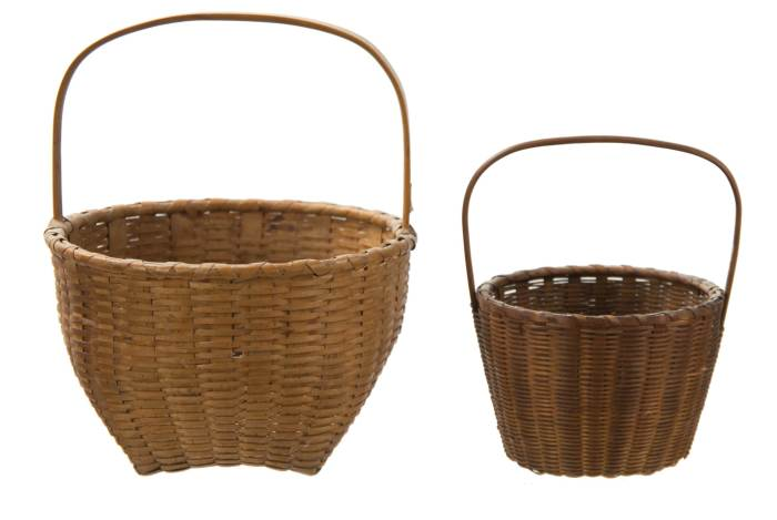 Lot 164: Three Baskets