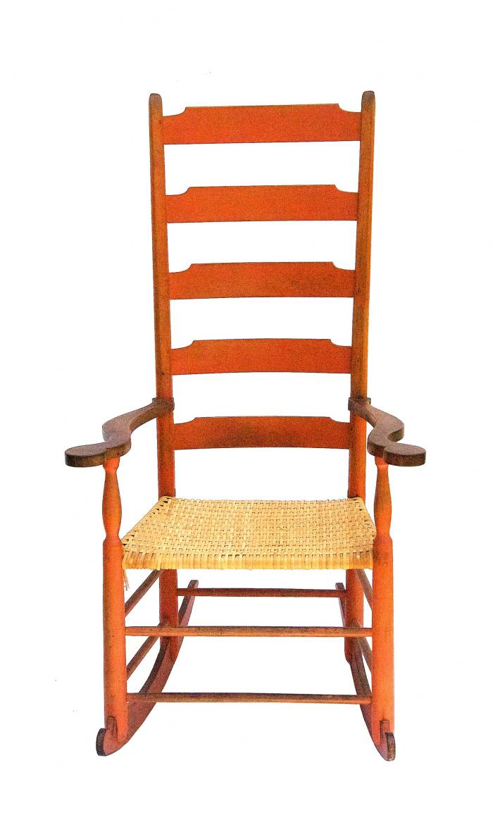 Lot 40: Rare Rocking Chair