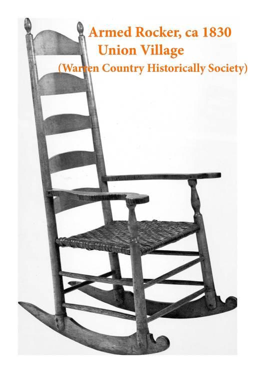 Lot 40: Rare Rocking Chair