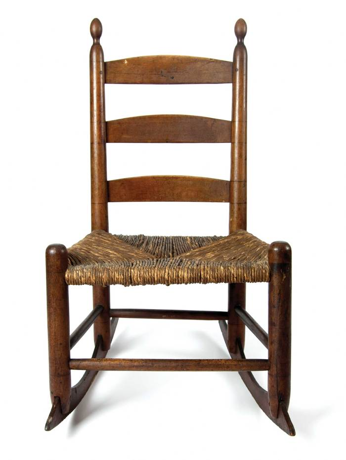 Lot 46: Child's Rocking Chair