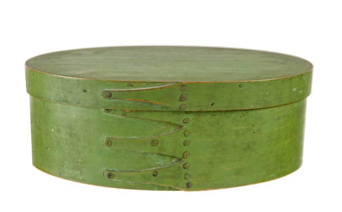 Lot 6: Oval Box