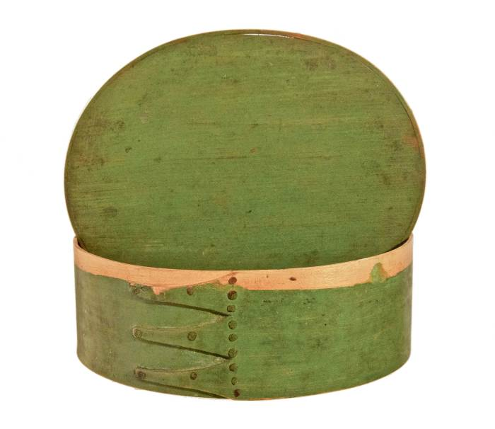 Lot 6: Oval Box