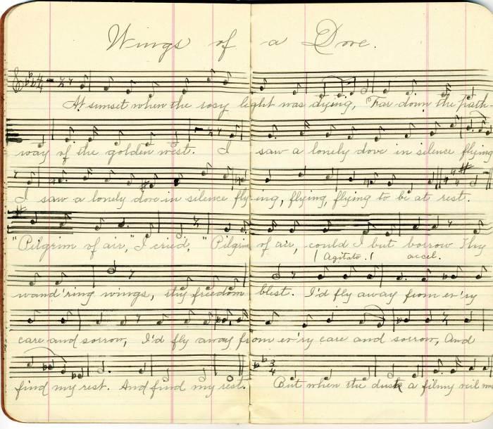 Lot 78: Song Manuscript