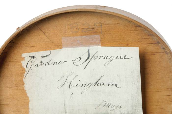 Lot 79: Shaker Letter and Oval Box
