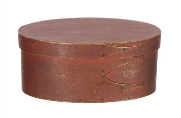 Lot 86: Oval Box