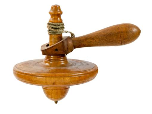 Lot 8: Child's Toy Spinning Top