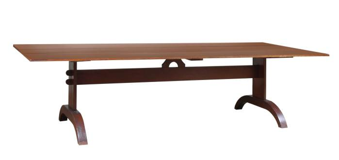 Lot 90: Trestle Table