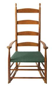 Lot 96: Rare Rocking Chair