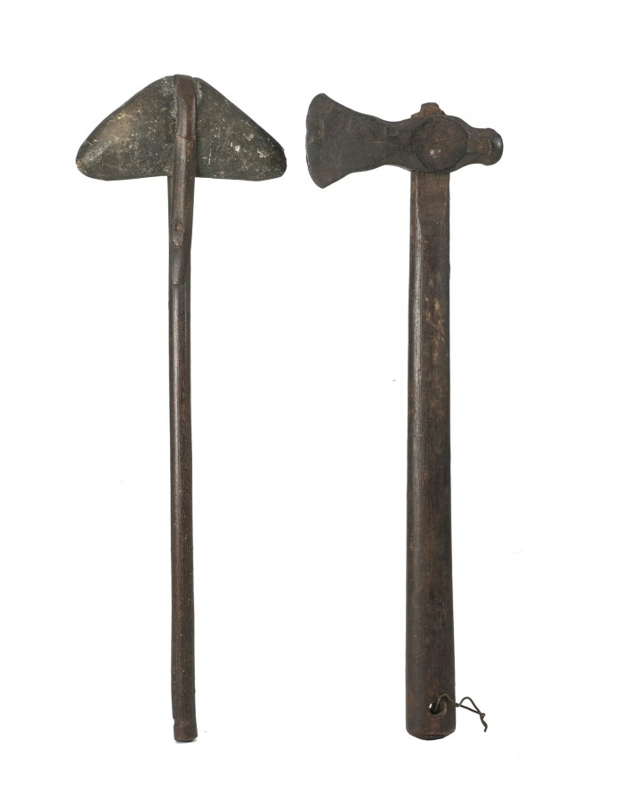 Lot 109B: Two North American Indian Axes