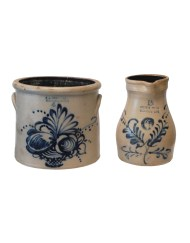 Lot 117: Two Stoneware Pieces