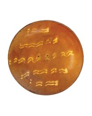 Lot 126: Redware Plate