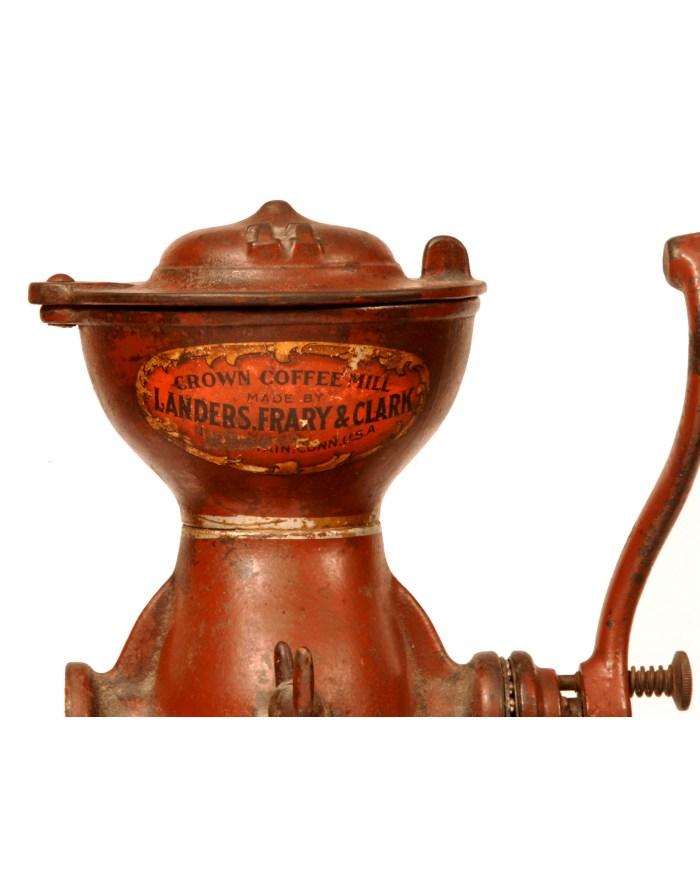 Lot 129: Cast Iron Coffee Grinder