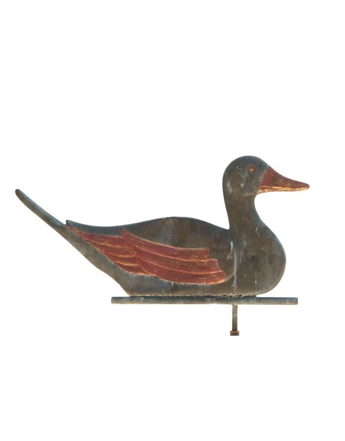 Lot 141: Duck Weathervane