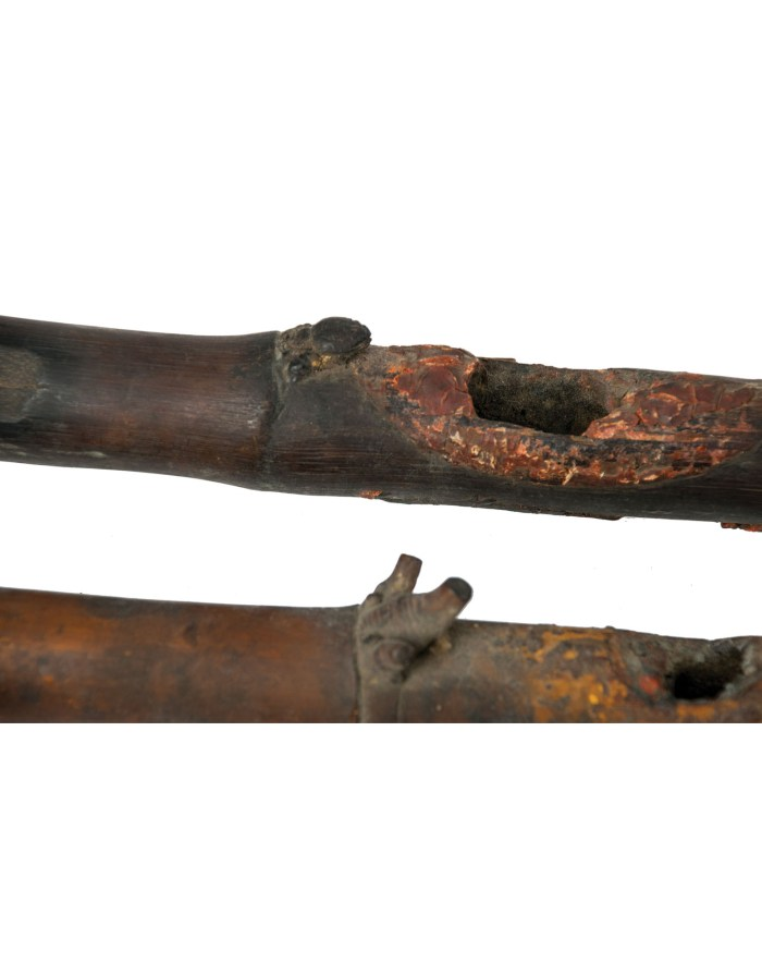 Lot 144B: Two Bamboo Smoking Pipes