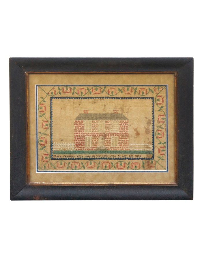 Lot 146: Needlework Sampler