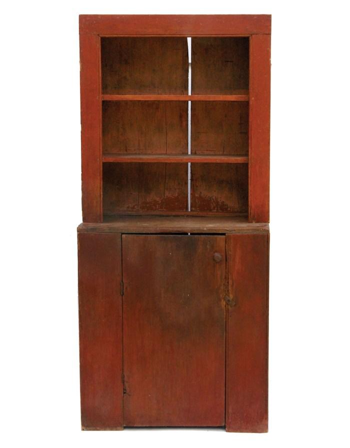 Lot 150: Stepback Cupboard