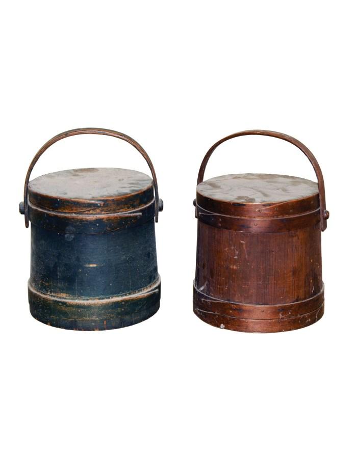 Lot 154: Pair of Hingham Buckets