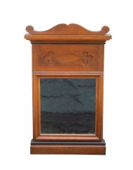 Lot 164: 19th C. Looking Glass