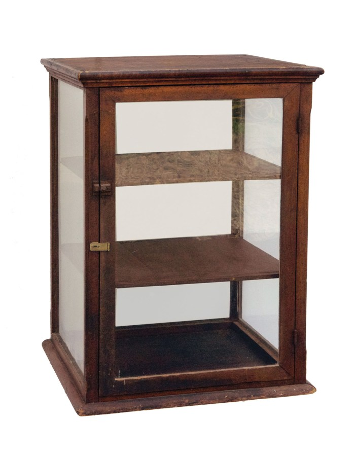 Lot 183: Country Store Display Case