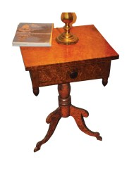 Lot 55: 19th C. Side Table