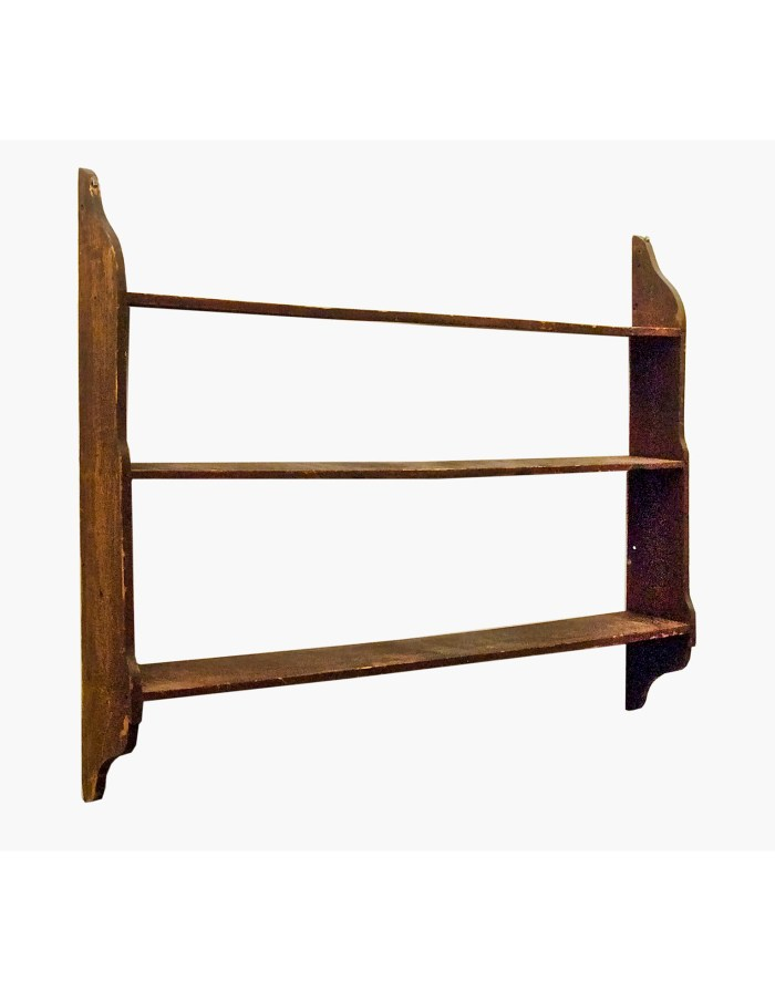 Lot 70: 19th C. Hanging Shelf