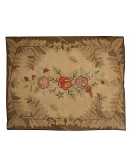Lot 80: Roomsize Hooked Rug