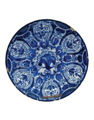 Lot 8A: Early Delft Ceramic Plate