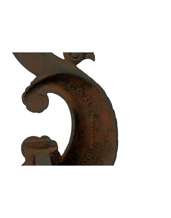 Lot 99: Cast Iron Andirons