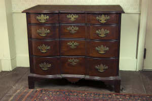 Chippendale blockfront chest