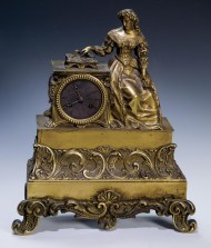 Lot 113: Mantle Clock