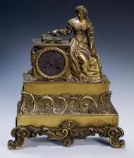 Lot 113: Mantle Clock