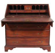 Lot 115: 18th c. Slant Lid Desk