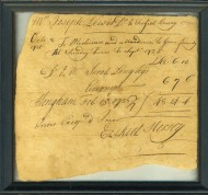 Lot 128: Ephemera Collection Related to Hingham, MA