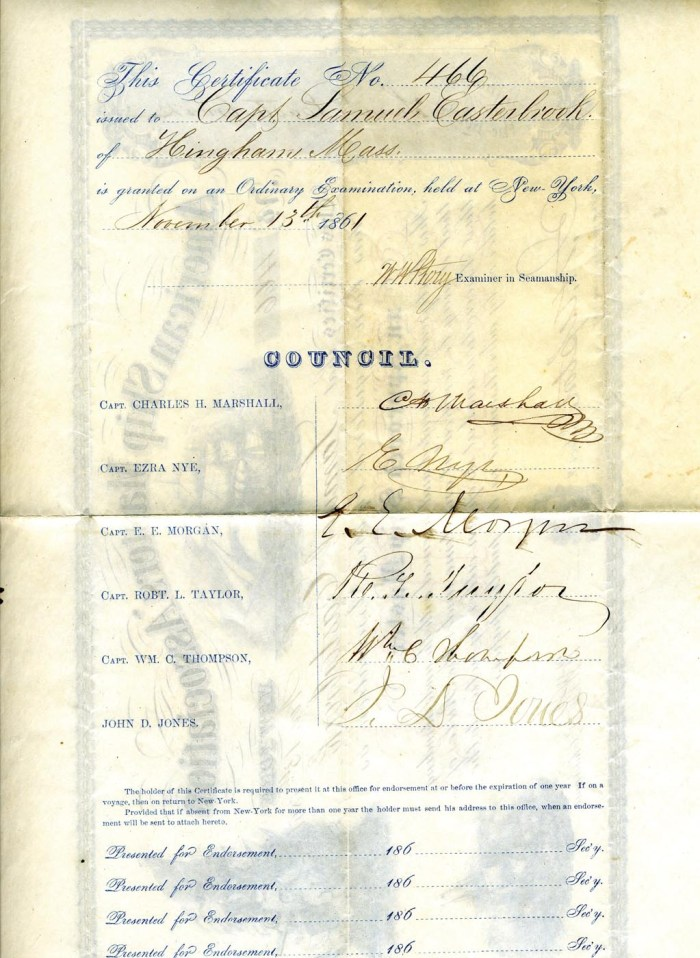 Lot 129: Ephemera Collection Related to Hingham, MA