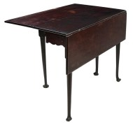 Lot 130: 18th c. Queen Anne Drop Leaf Table